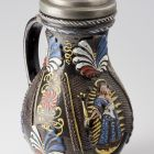 Jug with pewter lid
