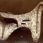 Photograph - bone saddle at the Exhibition of Applied Arts 1876