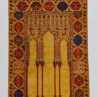Prayer rug - containing six columns