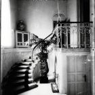 Interior photograph - stairway in the Ráth Villa (Városligeti av. 12.)