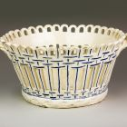 Ceramic basket