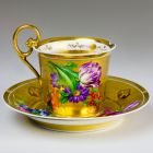 Ornamental cup and saucer