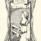Ex libris - Marry Irving Miller