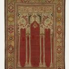 Prayer (niche) rug - containing six columns