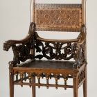 Armchair - from the royal parlor of the Millennial Exhibition