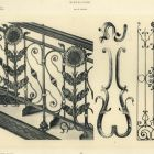 Design sheet - design forironwork stair and gate railing and other wrought iron decorations