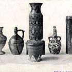 Photograph - Zsolnay vases and jugs