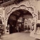 Exhibition photograph - passage in the Hungarian applied artists' pavilion, Paris Universal Exposition 1900