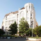 Architectural photograph - Modern & Breitner commercial and apartment building (Budapest, 23 Deák str.)