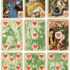 Playing card - with cartoons (cartes comiques)