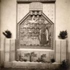 Photograph - Siege of Aquileia' glass mosaic on the main facade of the Hungarian Pavilion in Venice