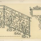 Design sheet - ironwork stair railing and design for sign