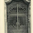 Design sheet - ironwork gate