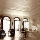 Interior photograph - foyer in the Károlyi Palace (Egyetem, today Károlyi str.)