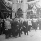 Photograph - King Franz Joseph visiting the Museum of Applied Arts on February 22, 1900
