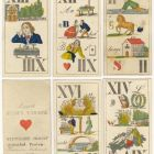 Playing card - with tarot puzzles