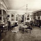 Interior photograph - small salon in the Pálffy Palace in Pozsony